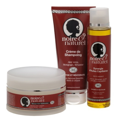 Un rituel de soins naturels et biologiques pour les cheveux frisés, bouclés, crépus ou défrisés.