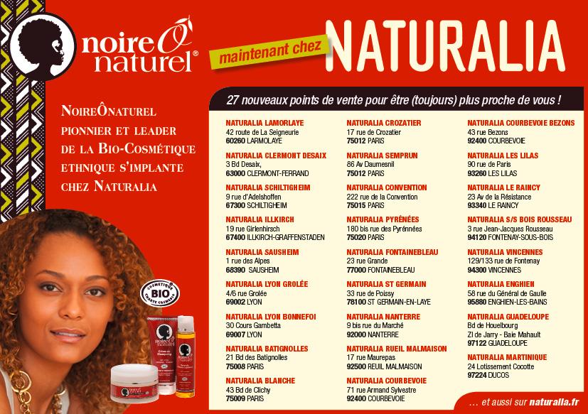27 Nouveaux Points De Vente Chez Naturalia Noire O Naturel
