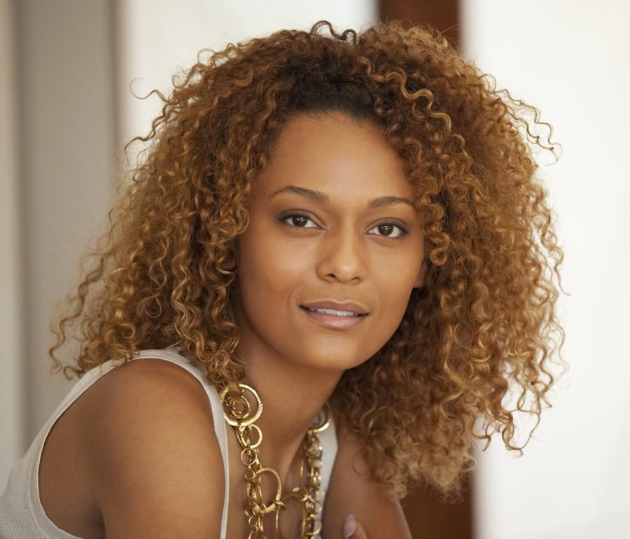 Beautiful Curly girl